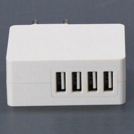 Nabíječka SDV-03 4x USB bílá