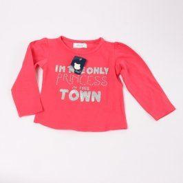Dívčí tričko Early Days růžové s nápisem