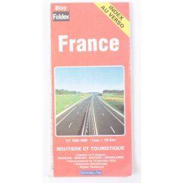 Turistická mapa Francie