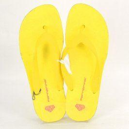 Dámské žabky Fornarina žluté