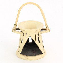 Keramická aromalampička na zavěšené
