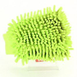 Prachovka rukavice Dedra zelená