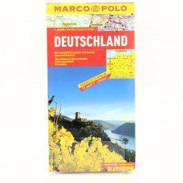 Skládací mapa Marco Polo Německo