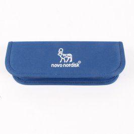 Penál Novo Nordisk modré barvy