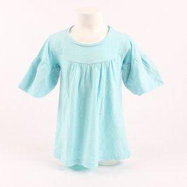 Dívčí letní šaty X-Mail odstín modré