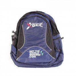 Batoh GCC modro černé barvy