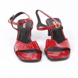 Dámské sandále Aldo Chelini červené