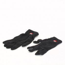 Dámské rukavice Glanc černé barvy