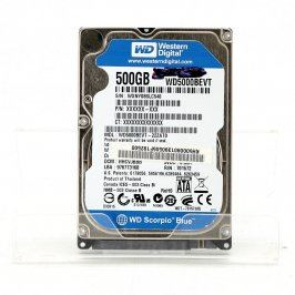 Pevný disk WD WD500BEVT 500 GB SATAII 2,5''