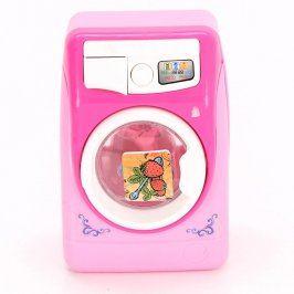 Dětská pračka plastová růžová