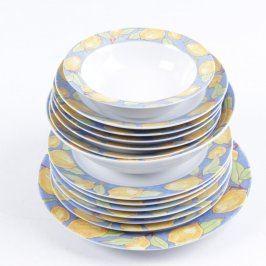 Sada talířů Porzellan-Unterglasur Highlights