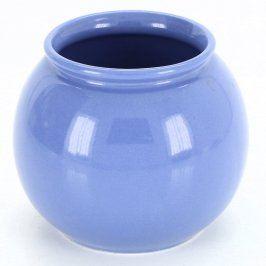 Keramický obal na květináč modrý