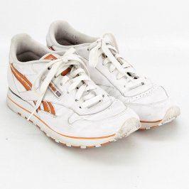 Dámské tenisky Reebok bílo-oranžové