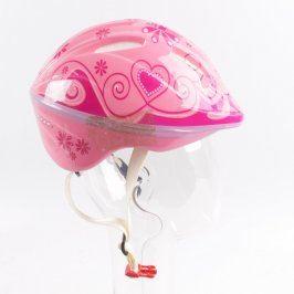 Dětská cyklistická helma Ancore růžová