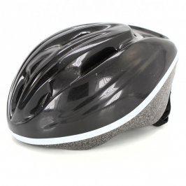Dětská cyklistická helma šedá