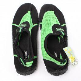Neoprénové boty Superun černozelené