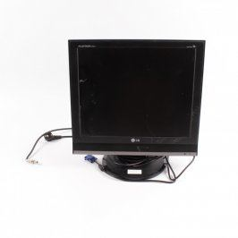 LCD monitor LG M1921A-BZ s tv tunerem černý