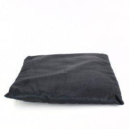 Malý manšestrový polštářek černý
