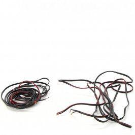 Kabely k reproduktoru černé 2x 400 cm