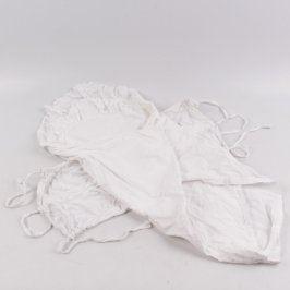 Dětská zavinovačka bílá 35 x 70 cm