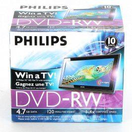 DVD-RW Philips 4,7 GB / 120 min