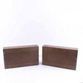 Reproduktory dřevěné speciální konektor