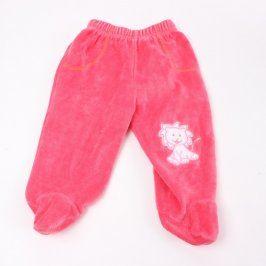 Dětské polodupačky K&Y růžové barvy