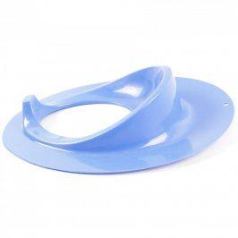 Plastové sedátko na WC modré barvy