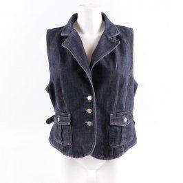 Dámská džínová vesta Brookshire modrá
