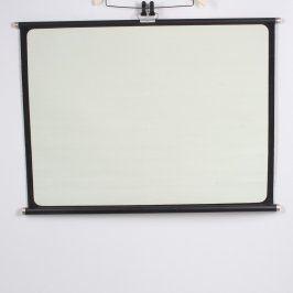 Projekční plátno 101 x 76 cm bílé