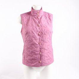 Dámská vesta světle růžová