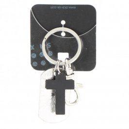 Přívěsky na klíče karabinka s křížem