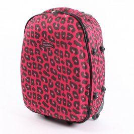 Cestovní kufr Constellation růžovo černý