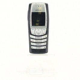 Kryt s tlačítky Nokia 6610i černostříbrný