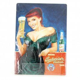 Reklamní cedule Budweiser č. 1