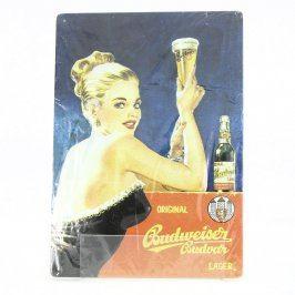 Reklamní cedule Budweiser č. 3