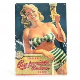 Reklamní cedule Budweiser č. 6