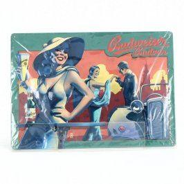 Reklamní cedule Budweiser č. 7