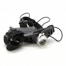 LED čelovka vertikálně nastavitelná