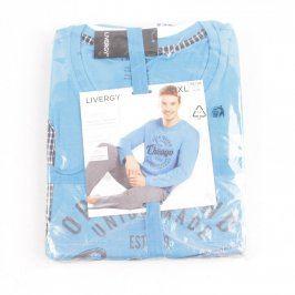 Pánské pyžamo Livergy modré