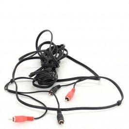 Kabel Hama 2x Cinch černý délka 500 cm
