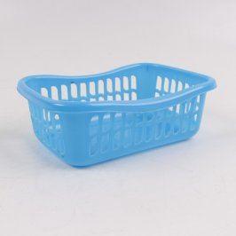 Dětský plastový koš na prádlo modrý
