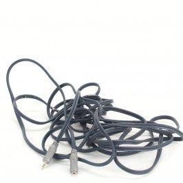 Kabel Bandridge jack 3,5 mm M/F délka 600 cm