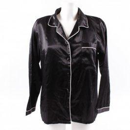 Dámská krátká noční košile černá