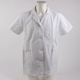 Lékařská košile bílá s krátkým rukávem