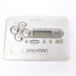 Walkman Sony WM-FX673 stříbrný
