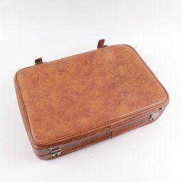 Cestovní kufr světle hnědý