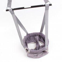 Textilní houpačka pro kojence látková