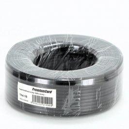 Telefonní kabel PremiumCord TK4-1B 100 m