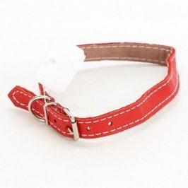 Obojek pro psa červené barvy